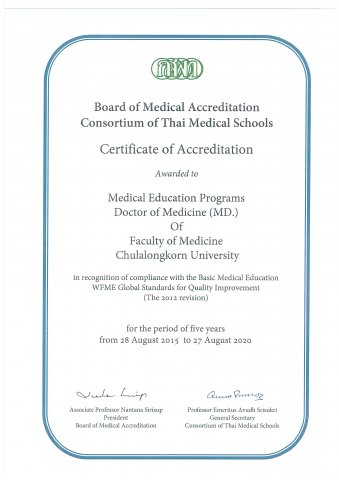 Certificate of Accreditation